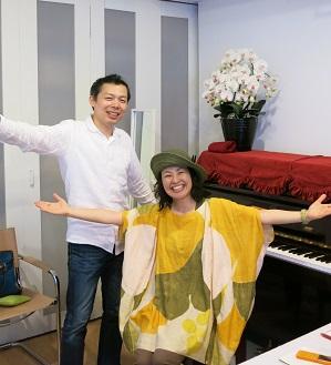 上村晃一郎さんと紀々
